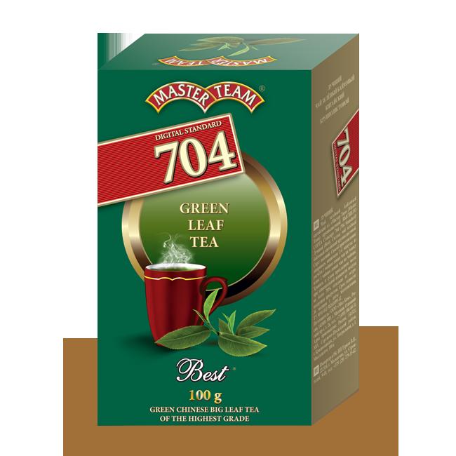 Зелёный чай - обратная сторона пачки