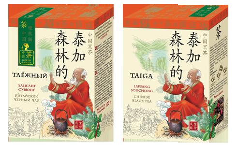Чай Лапсанг Сушонг Таежный Зеленая Панда